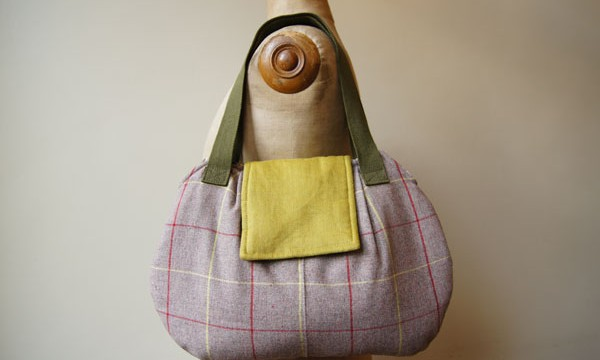 Porto bag – camelotte squares