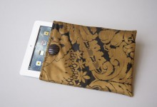 IPAD COVER turkish brocade