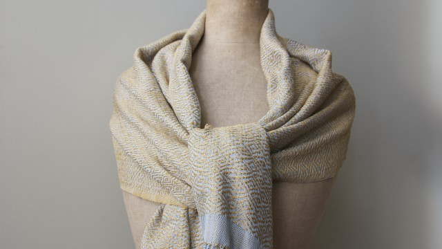 Shawl cotton - honeysuckle gold