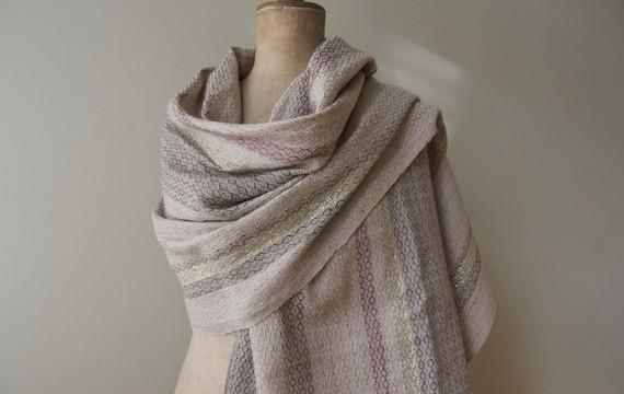 shawl madb.trad - light grey
