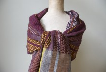 scarve madb.side - burgundy