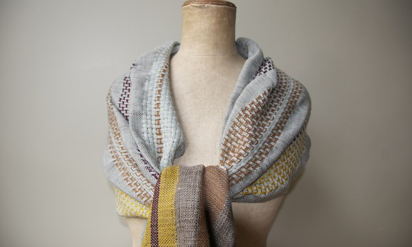 scarve madb.side - blue-grey